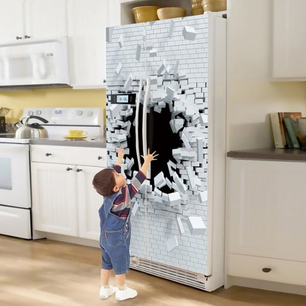 adesivo para envelopar geladeira