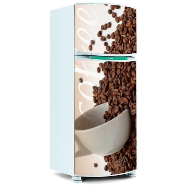 envelopamento de geladeira cafe