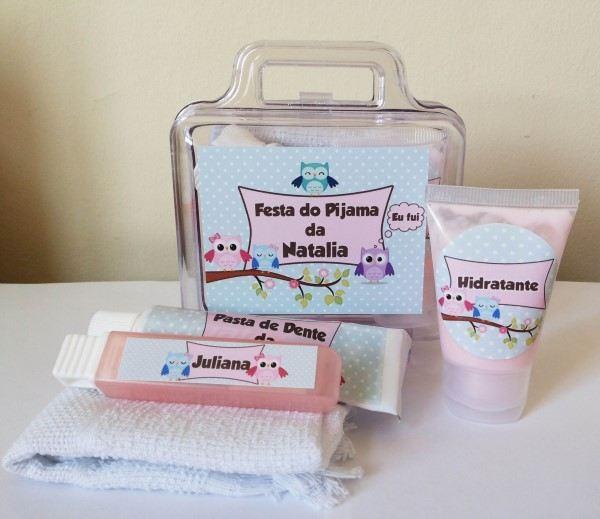 kit higiene para festa