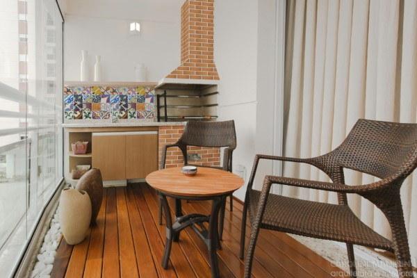 área gourmet para-apartamentos-pequenos