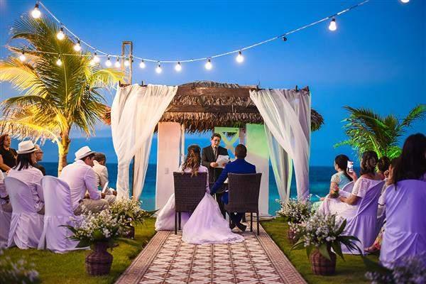 casamento na praia barato
