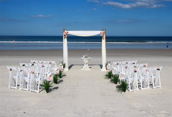 casamento na areia