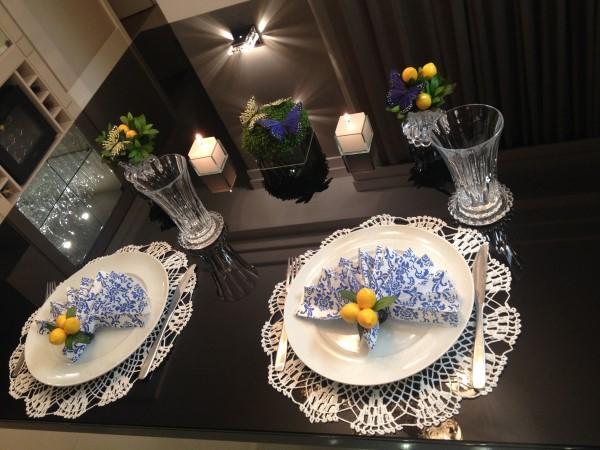 velas para jantar romantico