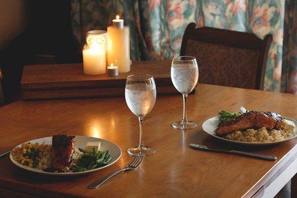 receitas jantar romantico caseiro