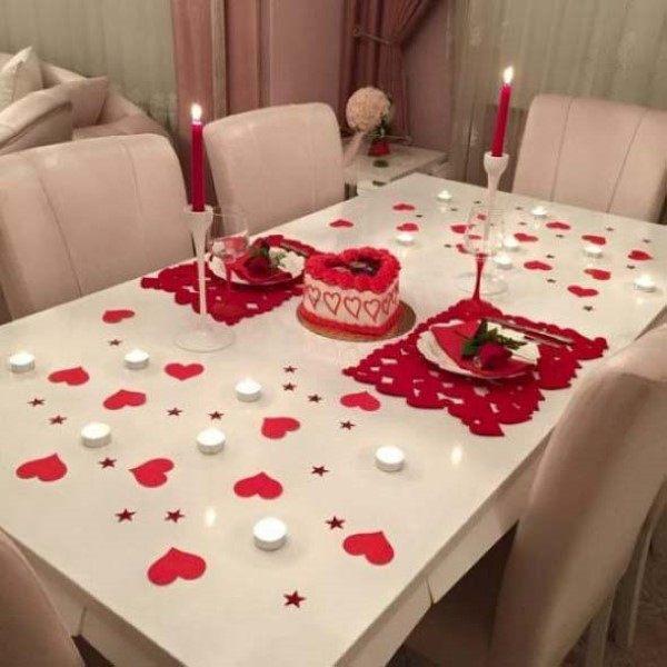 como fazer um jantar romantico simples