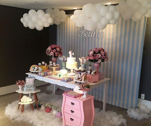 ideias para decorar festa chuva de amor