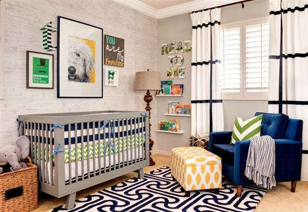 quarto bebe moderno