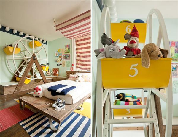 quarto infantil divertido