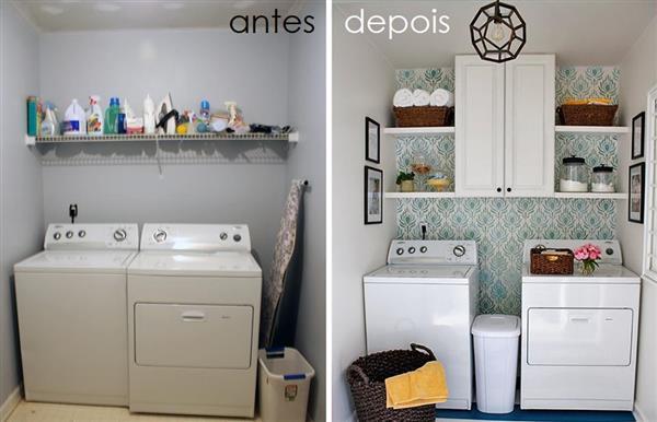 decoração de lavanderia