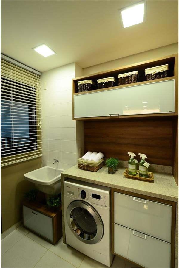 lavanderia planejada