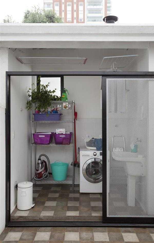 lavanderia na area externa