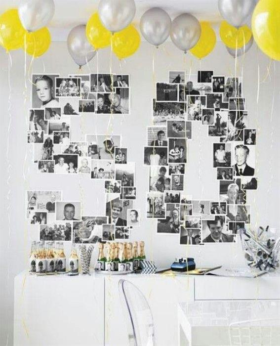 Ideia simples para aniversário