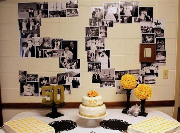 aniversário de casamento simples