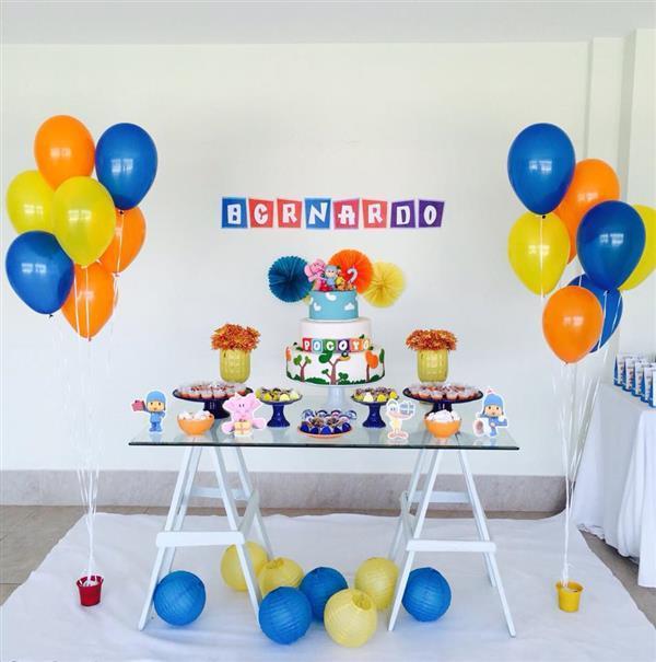 aniversário simples menino