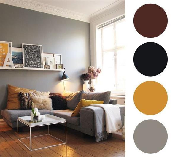 cores de tinta para sala