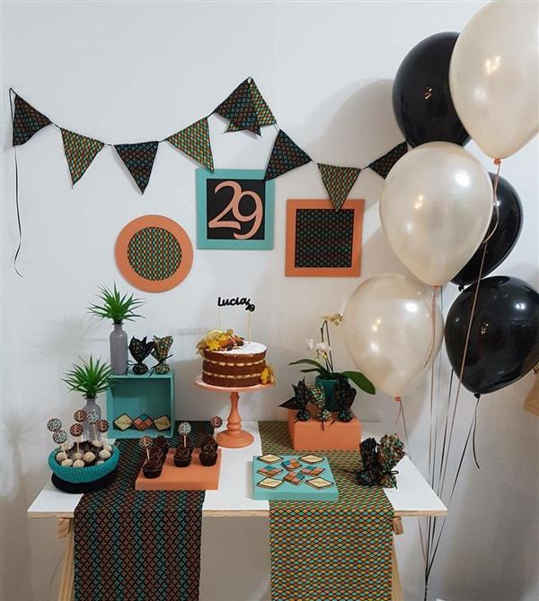 Festa decorada menina