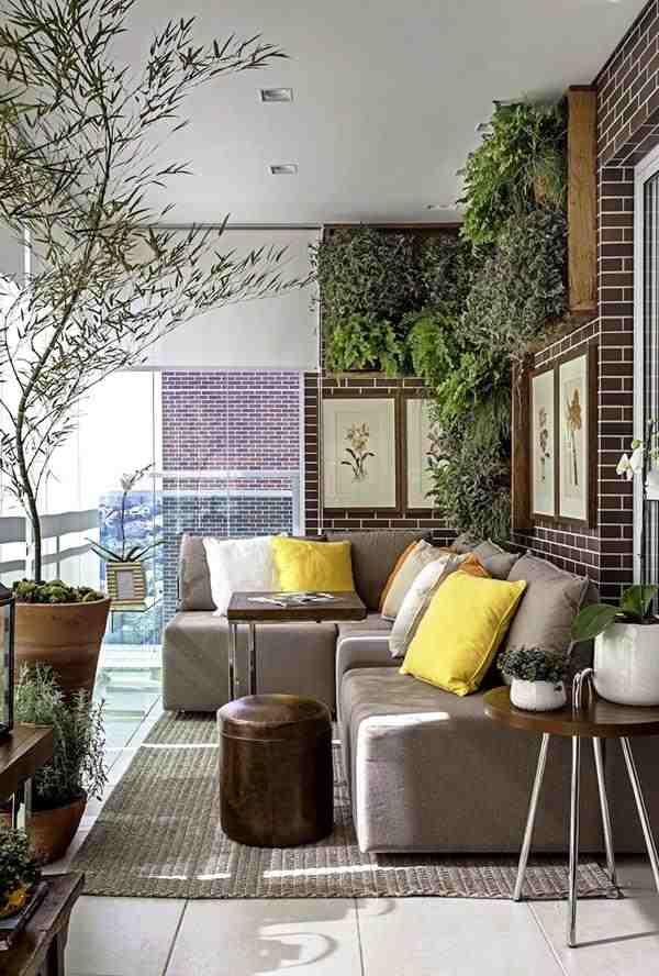 urban jungle na varanda