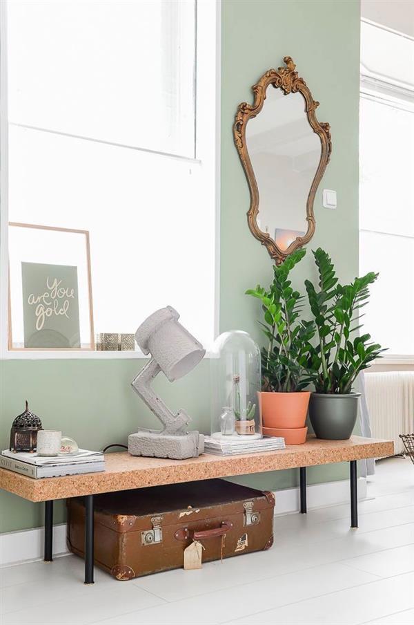 decorar com plantas