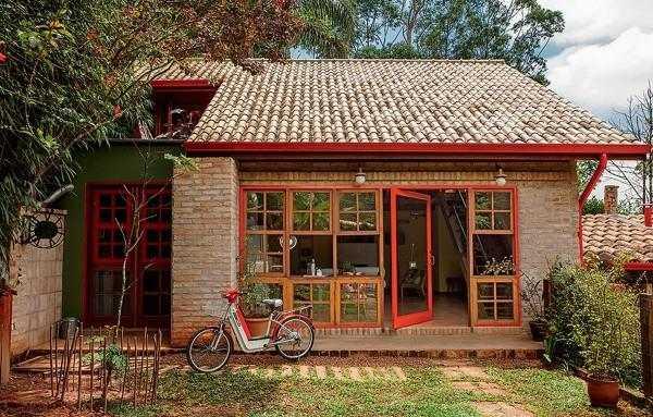 tipo-de-tijolo casa rustica