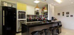 decoracao-com-luminária-de-led-para-cozinha