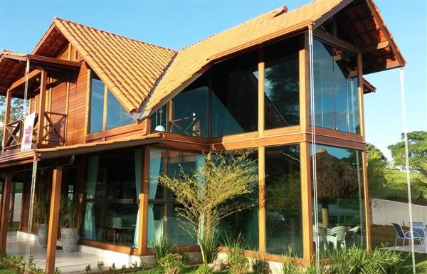 casas lindas de madeira