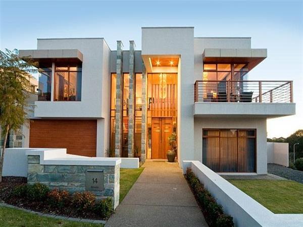 casa de luxo com varanda