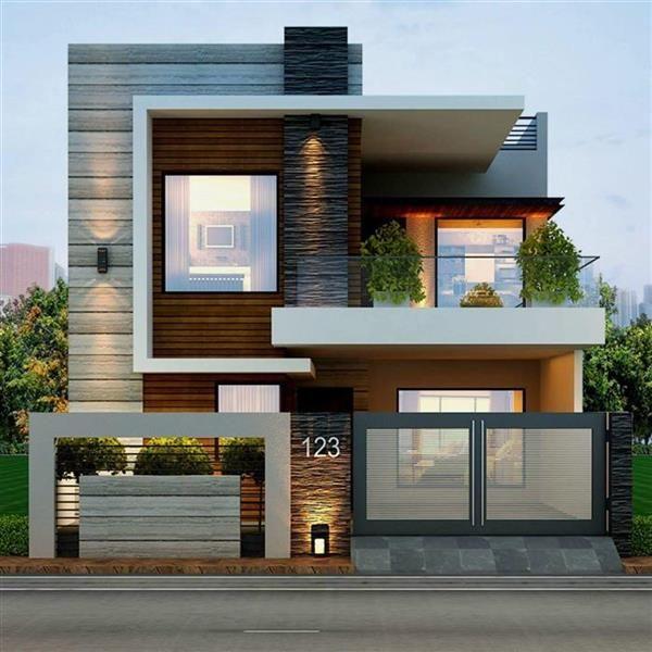 casas com janelas de vidro