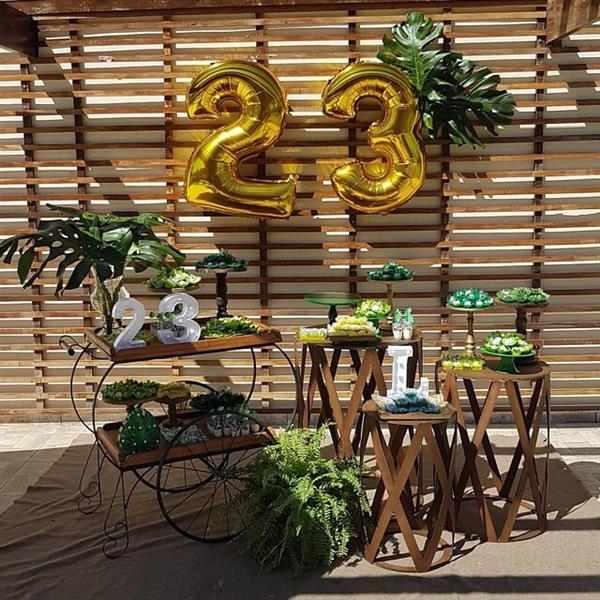 tema festa tropical