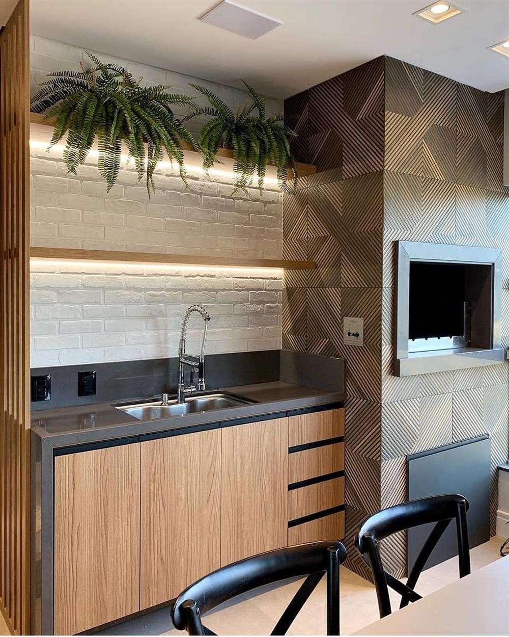 pisos de parede ideal ampliam o ambiente