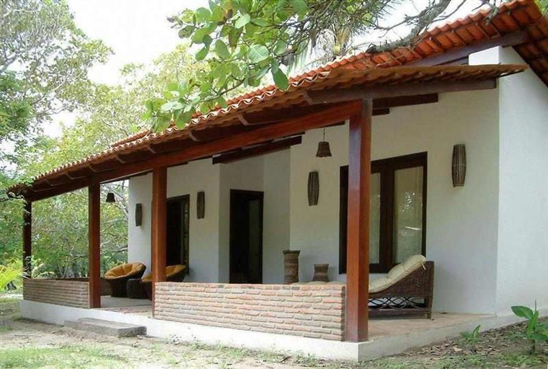 casa simples em estilo colonial moderno