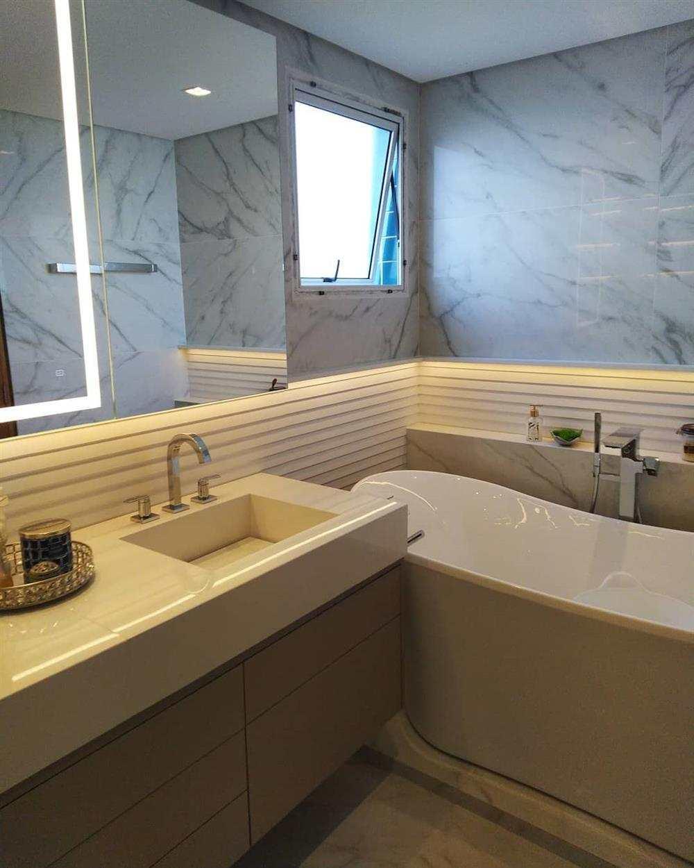 banheiro pequeno luxo