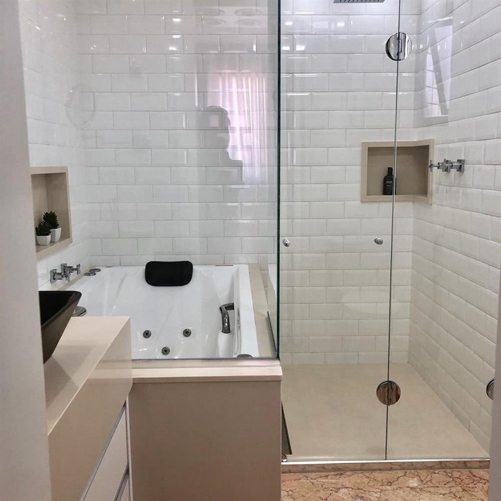 tamanho ideal de banheiro