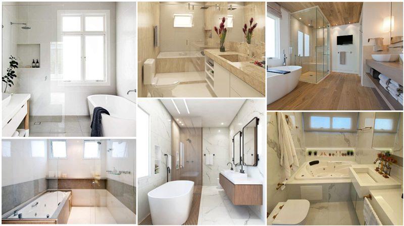 projetos de banheiro