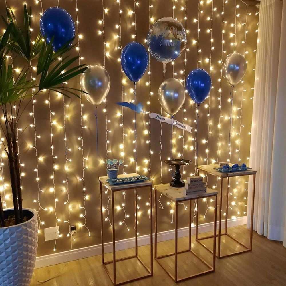 decoração de aniversário simples e barata