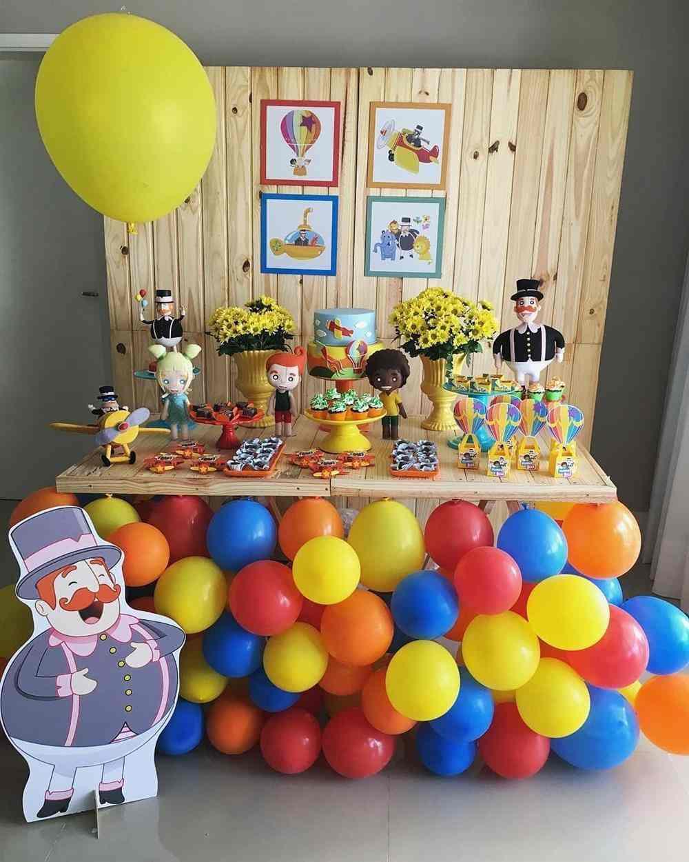 dicas de como enfeitar uma festa de aniversário simples