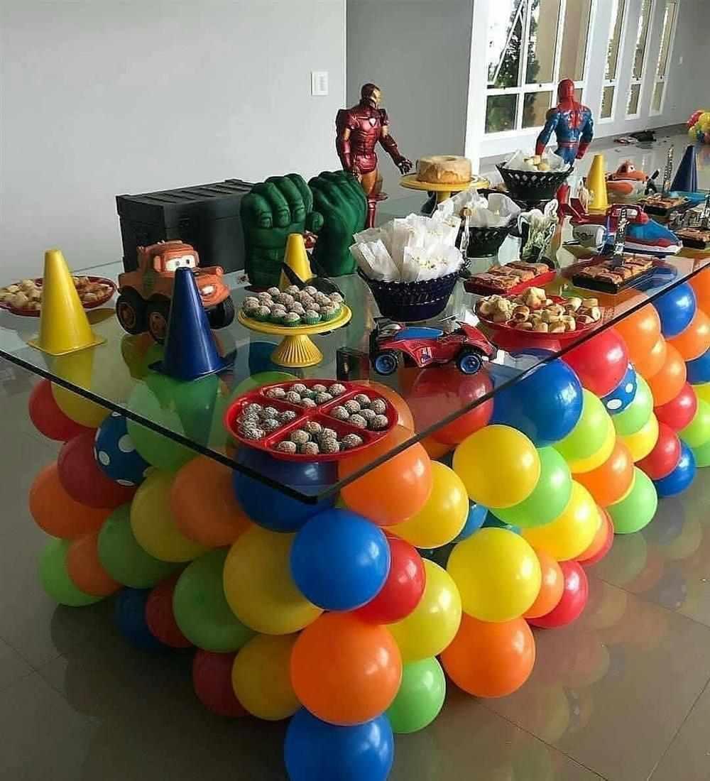 como enfeitar uma festa de aniversário simples e barata