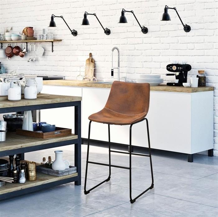 decoração estilo industrial para cozinha
