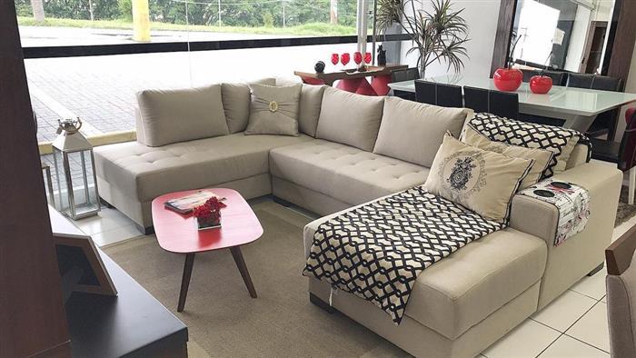 manta no sofá de canto