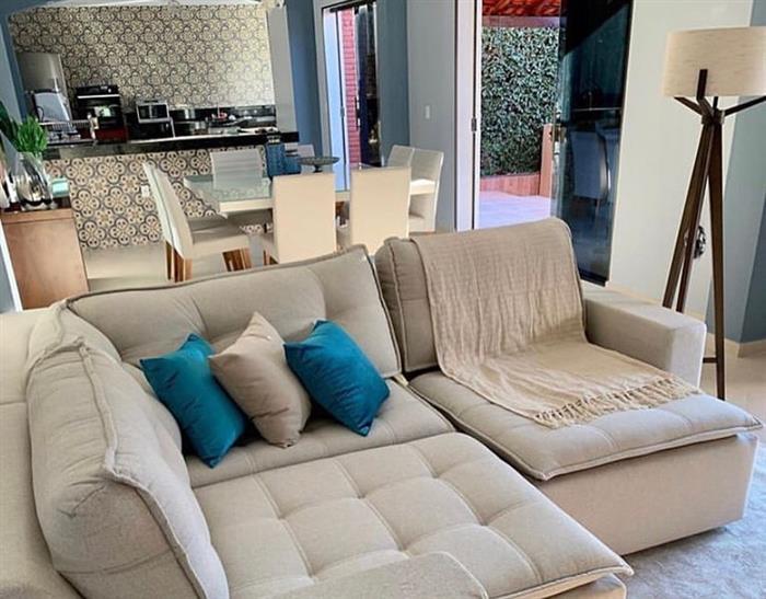 manta no sofa