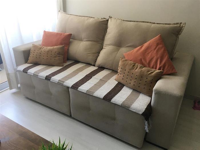 manta listrada para sofa